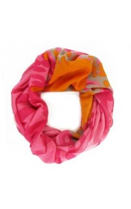 Powder Design Jemima Raspberry Mix Tørklæde